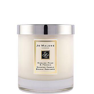 English Pear & Freesia Home Candle 200g