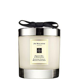 English Oak & Redcurrant Home Candle