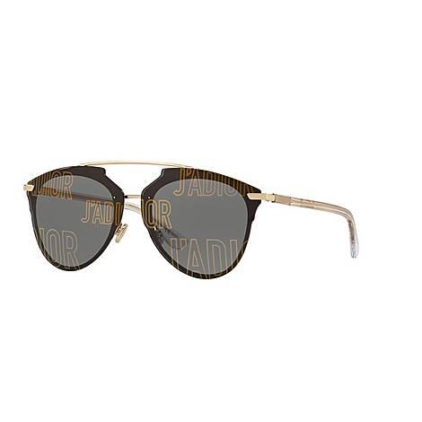 J'Adior DiorReflected Aviator Sunglasses, ${color}