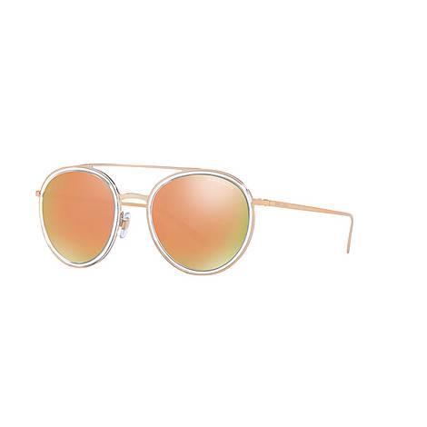 Round Sunglasses AR6051, ${color}
