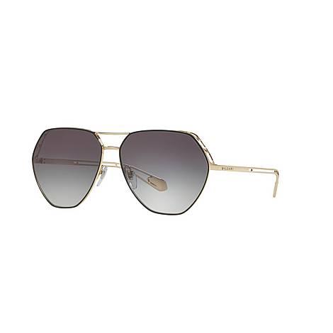 Pilot Sunglasses 0BV6098, ${color}