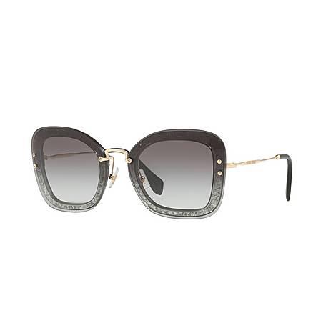 Rectangle 0MU 02TS Sunglasses, ${color}