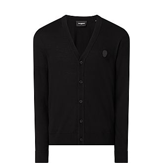 Leather Elbow Patch Cardigan