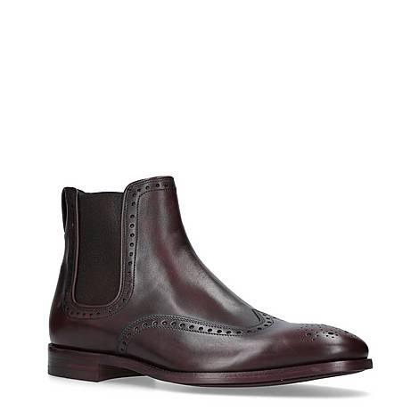 Bedford Wingtip Chelsea Boots, ${color}