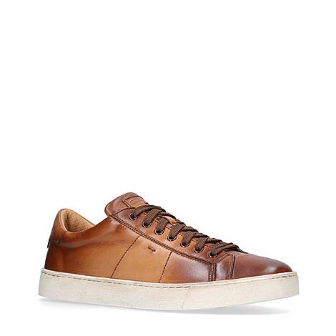 Gloria Leather Trainers, ${color}