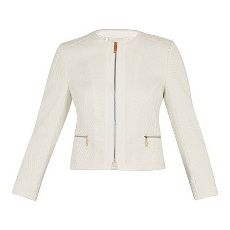 Taahra Cropped Jacket, ${color}