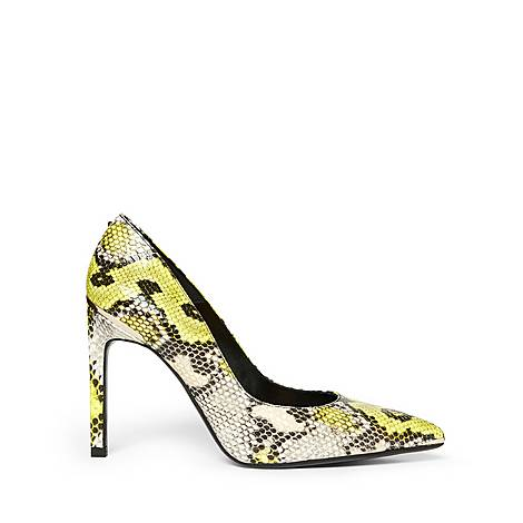 Melliss Snake-Effect Leather Courts, ${color}