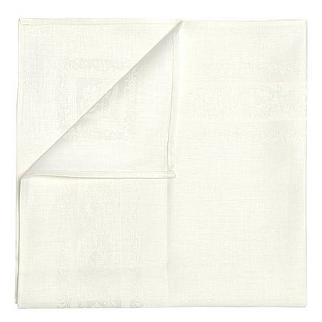 Double Damask Fine Scroll Napkins set of 6, ${color}