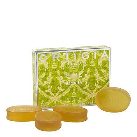 Lime di Sicilia Box Of Soaps, ${color}