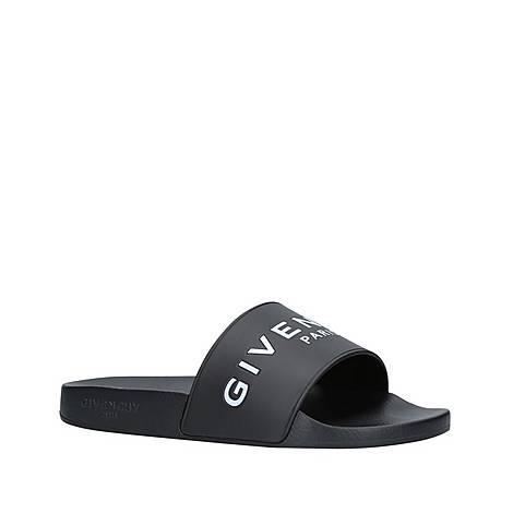 Slide Flat Sandals, ${color}