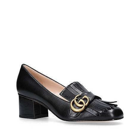Marmont Mid Heel Loafers, ${color}