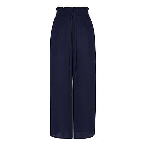 Fluid Crop Trousers, ${color}