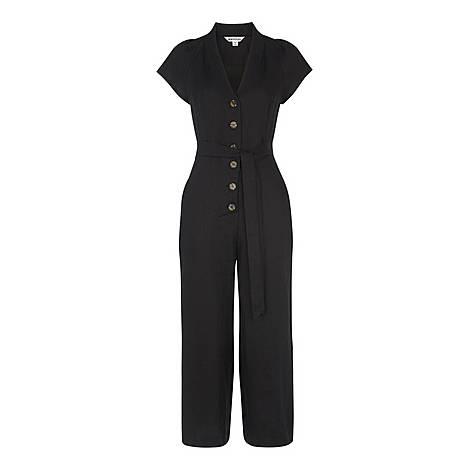 Sana Linen Button Jumpsuit, ${color}