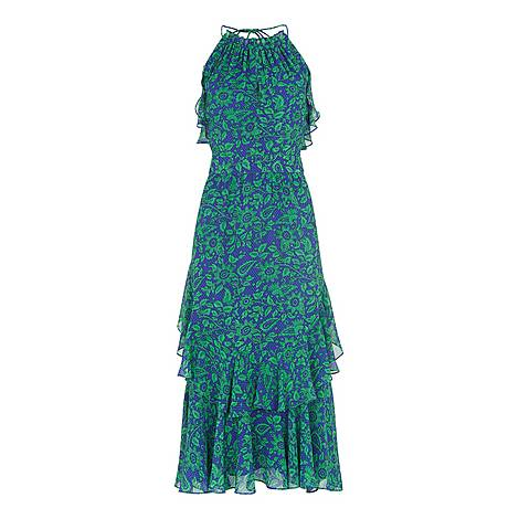 Devina Henna Print Dress, ${color}