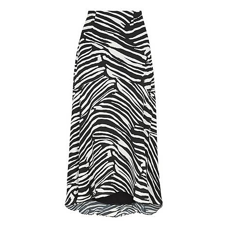 Zebra Print Skirt, ${color}