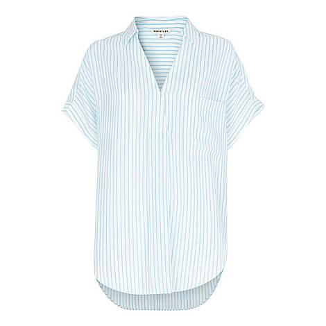 Lea Stripe Shirt, ${color}