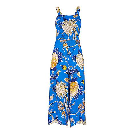 Exotic Floral Jumpsuit, ${color}