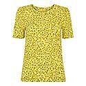 Clouded Leopard Print Rosa T-Shirt, ${color}