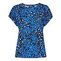 Brushed Leopard Print Top, ${color}