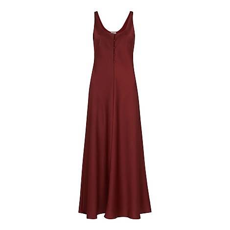Pippa Satin Slip Dress, ${color}
