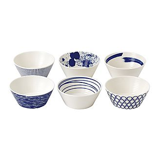 Set of 6 Pacific Bowls