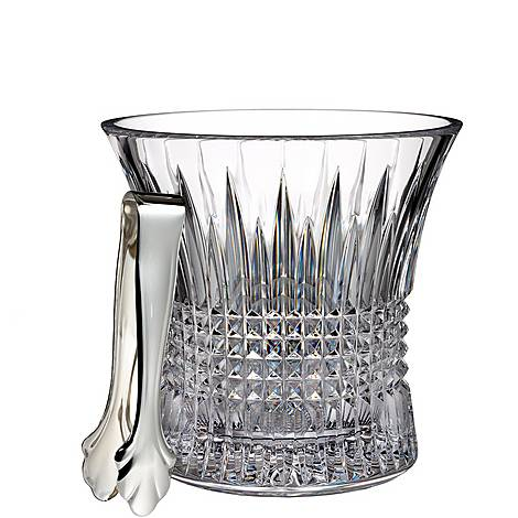 Lismore Diamond Ice Bucket with Tongs, ${color}