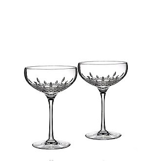Lismore Essence Champagne Coupe Set of Two