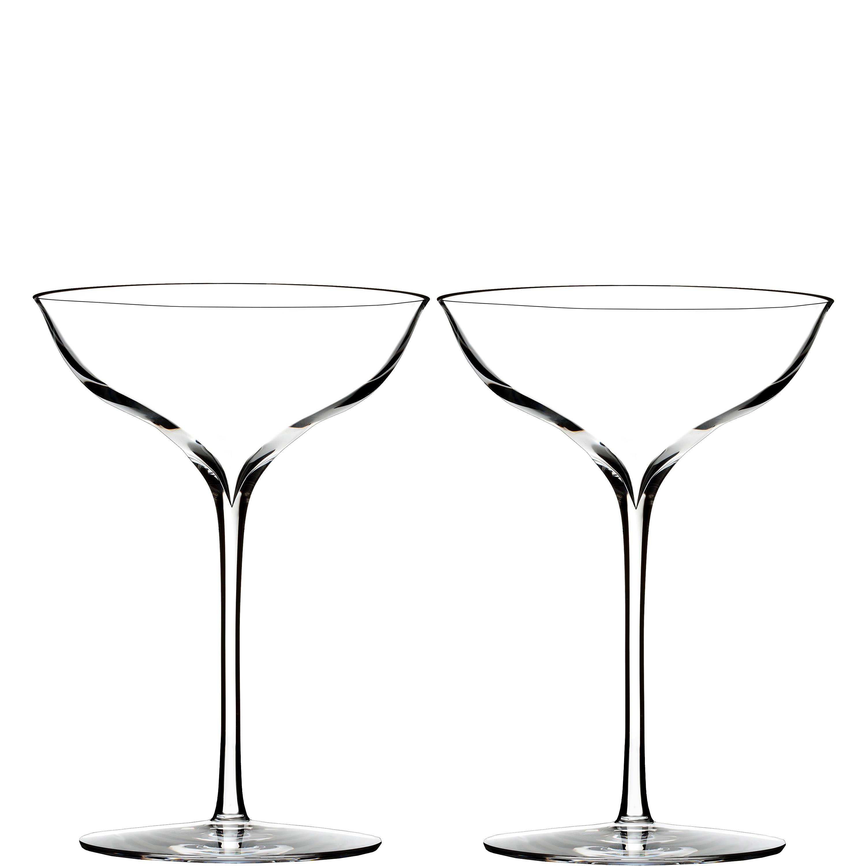 Waterford Elegance Champagne Belle Coupe Set Of Two