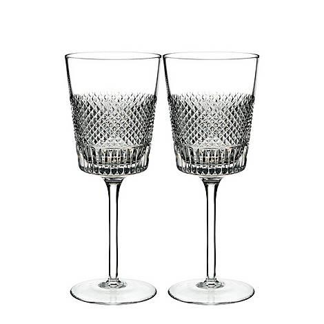 Diamond Line Wine Glasses, ${color}