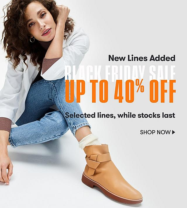 Shop FitFlop Black Friday Deals - NEW LINES ADDED - upto 40% off
