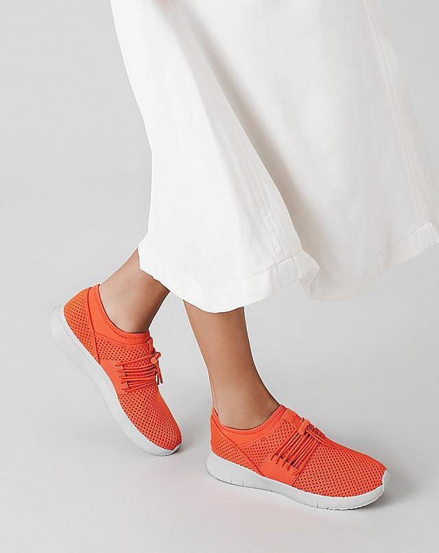 Uberknit Sneakers in bright orange colour