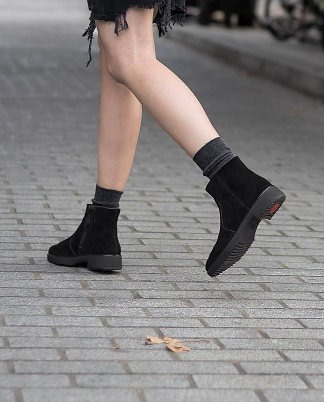 Fitflop suede ankle boot