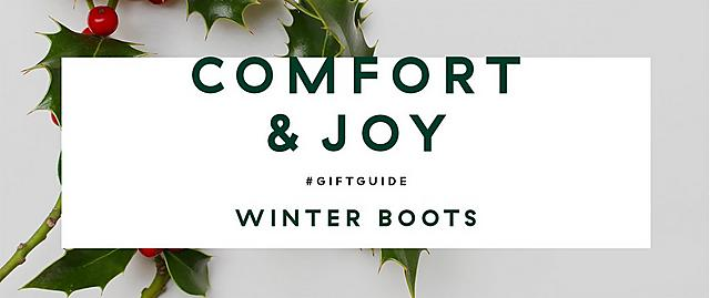 Fitflop Christmas gift guide Winter boots