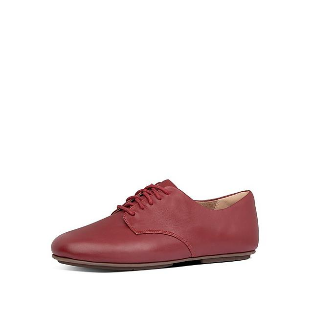 Fitflop Adeola shoe in red leather