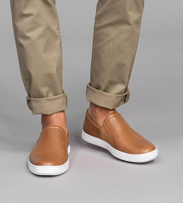 Fitflop Mens leather loafers in tan colour