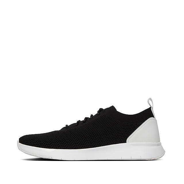 FLEXKNIT Lace Up Sneakers Noir | Fitflop CA