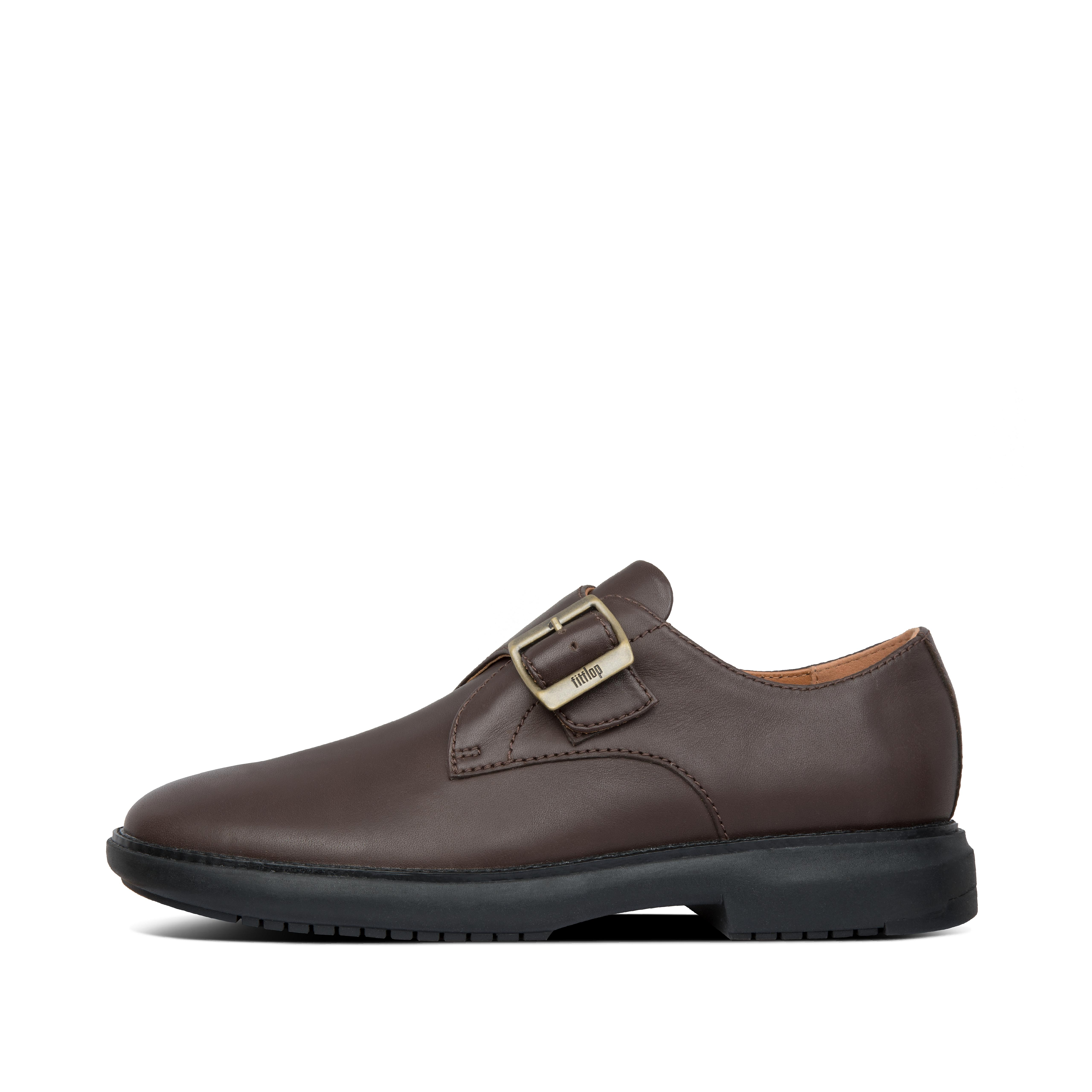 Popular with stylish guys after something a bit different, monk straps are a classic alternative to laced dress shoes. Our single-strap version retains the sleek dashing looks and smart heel, adding flair to almost any outfit. But you won\\\'t have to give up comfort - anatomical footbeds support your feet and our Dynamicush™ high-rebound cushioning tech is hidden in those elegant soles. Isn\\\'t it time you joined the order of the monk strap?