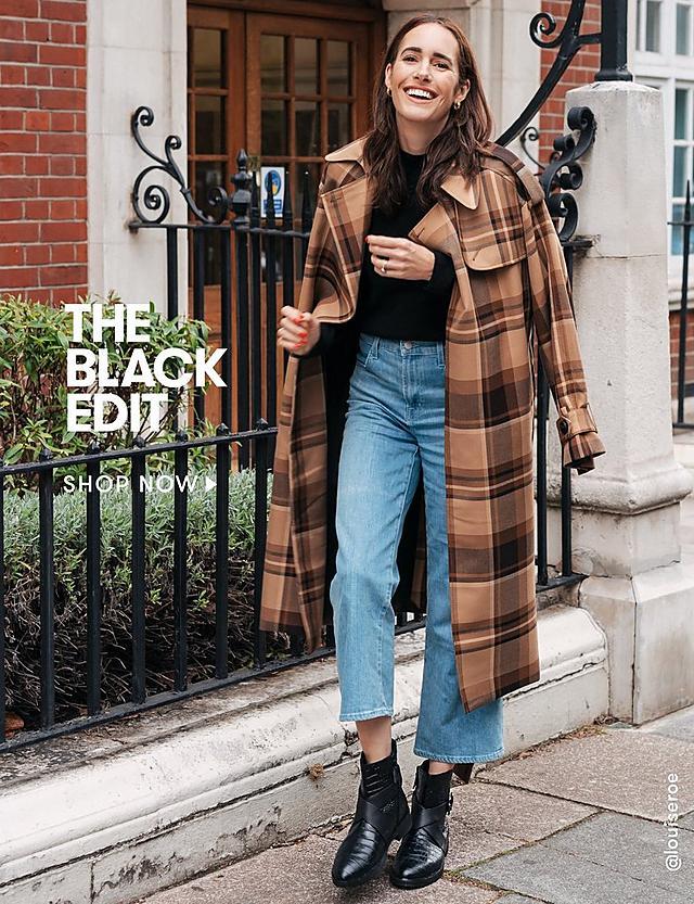 shop the black edit collection