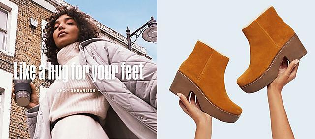 Like a hug for your feet. Shop Shearling