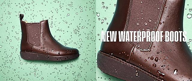 New waterproof boots. Shop Now
