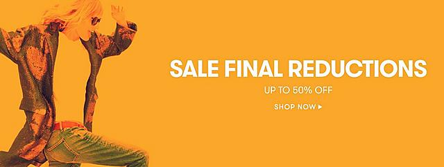 Shop Upto 50% off Mid Season Sale