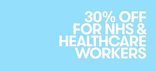 25% OFF EVERYTHING FOR NHS WORKERS