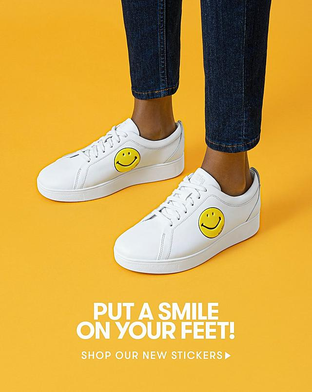 Shop Fitflop Smiley Stickers