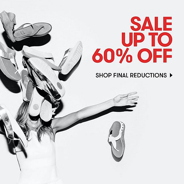 UP TO 60% SALE FITFLOP