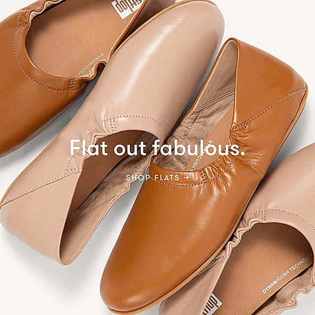 Shop the fitflop flat shoes collection