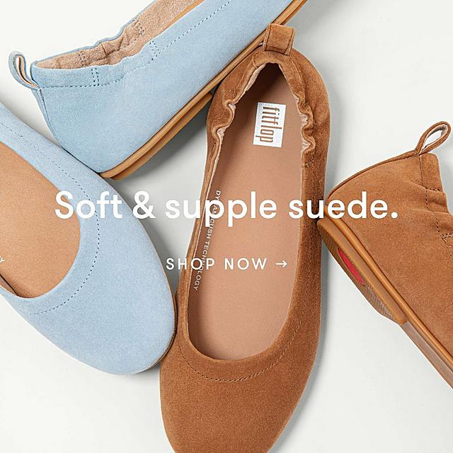Shop Fitflops Suede Collection