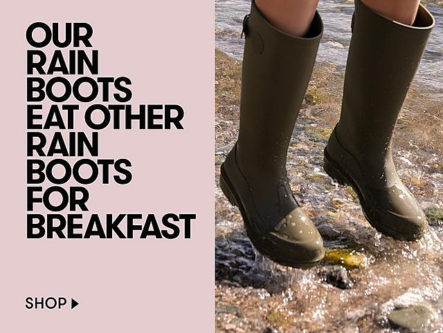 SHOP THE WONDERWELLY RAIN BOOT COLLECTION