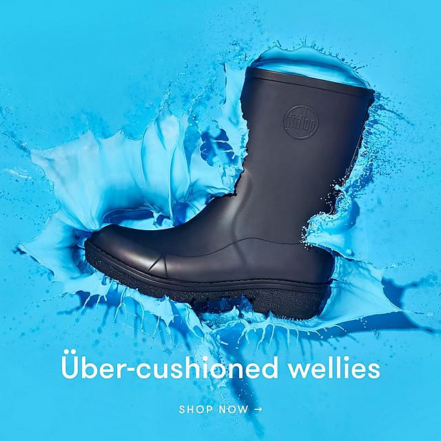Uber-cushioned wellies. Shop Now