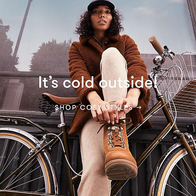 It's cold outside! Shop Cosy Styles