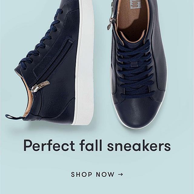 Perfect fall sneakers. Shop Now